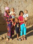 mon hôtesse et sa famille à Baetovo