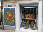 un magasin de musique du quartier Beyoglu d'Istamboul