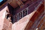 les rois-mages de l'église romane de Perse à Espalion
