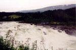 les rapides de Laksforsen