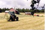 une ferme moderne
