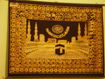 une représentation de la Kaaba de la Mecque chez nos hôtes de Och