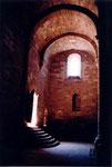 l'intérieur de l'église romane de Perse à Espalion