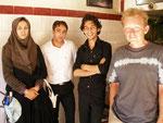jeunes Iranien(ne)s au bar