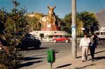au carrefour, les yaks en or