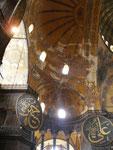 """le dôme de la basilique de la Divine sagesse (""""Sainte Sophie"""")"""