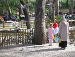 les familles dans un parc d'Ankara