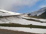 retour au goudron au col Egribel (2200 m ;  Egribel gecidi)