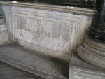 """les croix effacées du balcon d'Aya Sofya (""""Sainte Sophie"""")"""
