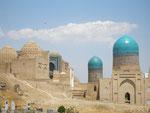 la nécropole Shah-I-Zinda