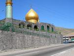 la mosquée de style turkmène Goosfand sara