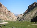 les 14 kilomètres pour rejoindre la vallée principale