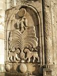 très rare décoration florale sur la Cifte Minare Medresesi d'Erzurum (école coranique à 2 minarets)