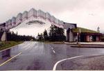 l'entrée dans la province du Nordland