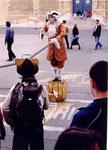 Arles: un mime de rue
