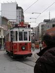 le funicilaire Tabakas-Taksim  d'Istamboul