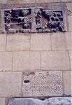 Toulouse: un réemploi de matériel romain dans un mur de St Sernin