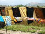 des foulards turkmènes plus colorés qu'ailleurs en Iran