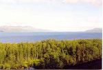 le lac de Torneträsk
