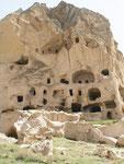 habitations troglodytiques de Selime