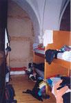 le dortoir de l'auberge de Sahagun