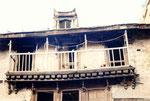 balcon traditionnel de Bhaktapur