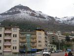 la neige à Gümüshane