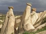 les cheminées de fée d'Ürgüp