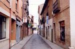 une rue de Sahagun