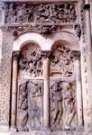 sculptures de l'église abbatiale de Moissac
