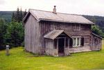 une vielle maison de Mo I Rana