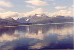 reflets dans le Lyngenfjord