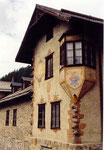 une échaugette à Sulden (Trentin Haut-Adige)