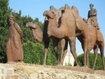 les chameaux de la route de la soie