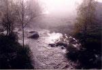 la brume matinale de St Alban sur Limagnole