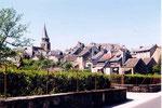 St Côme d'Olt et son clocher vrillé
