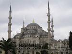 la Mosquée bleue (Sultanahmet Camii) d'Istamboul