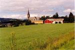 en banlieue de Strondheim