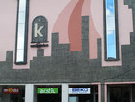 façade ultramoderne de magasin d'Erzurum