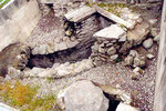 amphithéâtre romain de Martigny: les égouts?