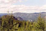 vue du col d'Hedalen