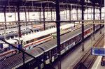 les quais de la gare de Copenhague