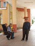 vendeur de pâtisseries à l'otogar de Sivas