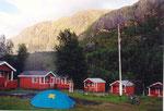 ma tente au camping de Morsvikbotn