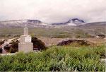 monuments aux prisonniers soviétiques morts pendant la construction de la route