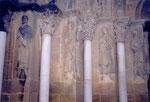 à l'intérieur de l'église de Morlaas