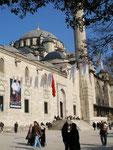 la Fatih Camii (mosquée de Mehmet le conquérant)