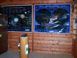 fertig für den Einzug des Teleskops -  ready for the telescope