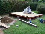Fertig für den Aufbau der Gartenhütte, äh pardon der Sternwarte - ready for build the observatory