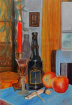 """""""Äpfel und Calvados"""" (Pastellkreide) 250.-€"""